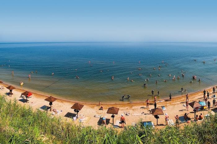 Станица Голубицкая, пляжи