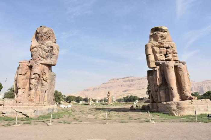 Египет, Колосс Мемнона