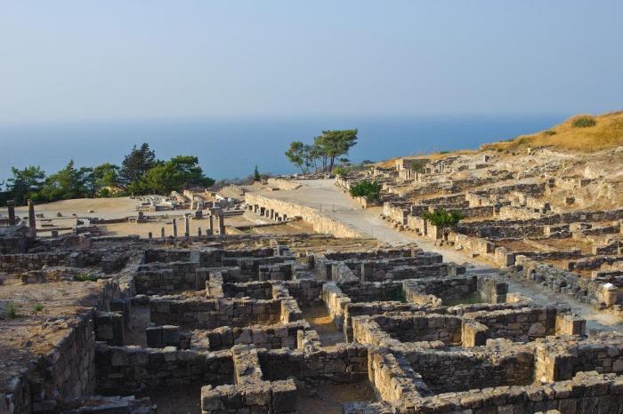 Греция, Древний город Камирос