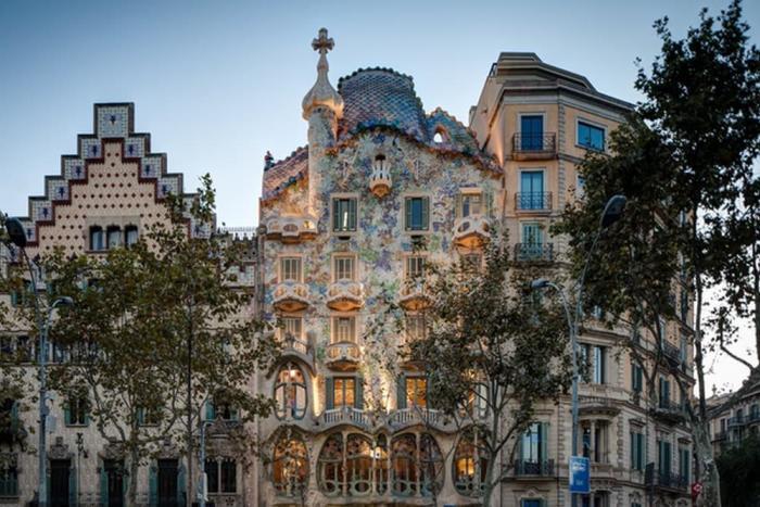 Испания, Дом Бальо в Барселоне