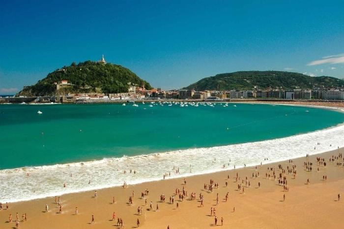 Испания, Пляж Ла-Конча