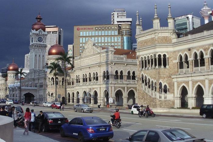 Малайзия, Дворец султана Абдул-Самада