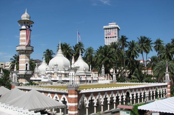Малайзия, Мечеть Джамек