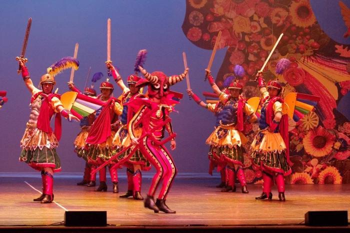 Мексика, фольклорный балет «Ballet Folklorico de Mexico»