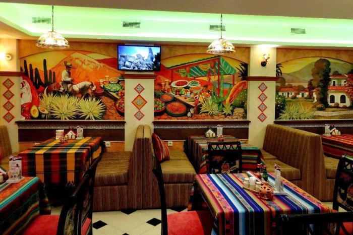 Мексика, Местный ресторан