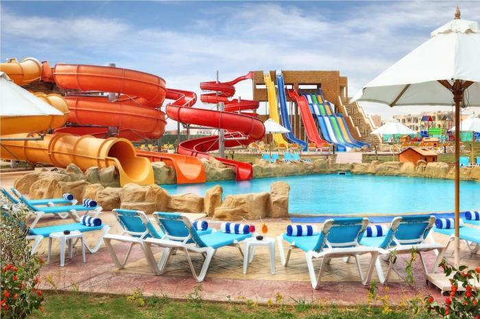 Отдых для детей за границей, Аквапарк в Шарм-эль-Шейхе