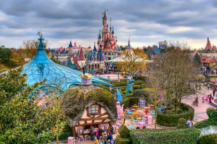 Отдых для детей за границей, Диснейленд во Франции