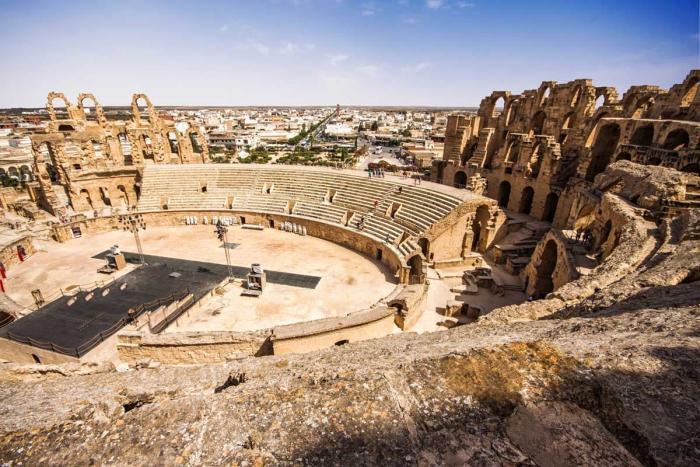 Тунис, Колизей в Эль-Джеме
