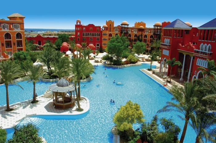 Хургада, Отельный комплекс Grand Resort 5