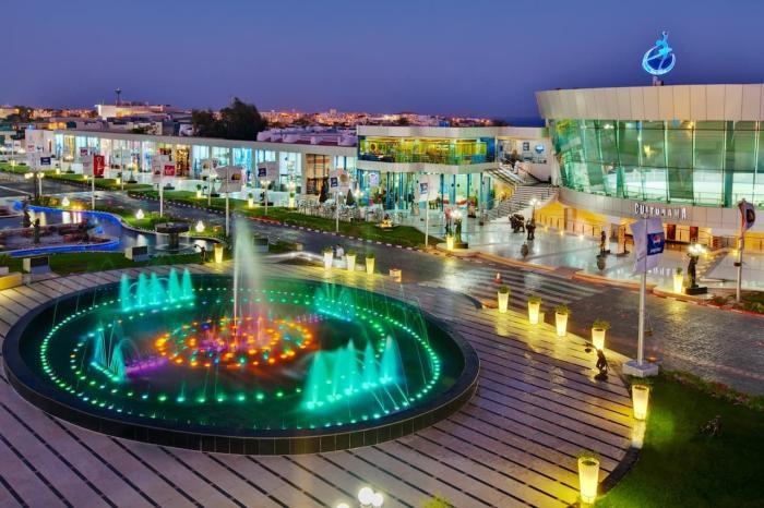 Шарм-эль-Шейх, Поющие фонтаны в Сохо
