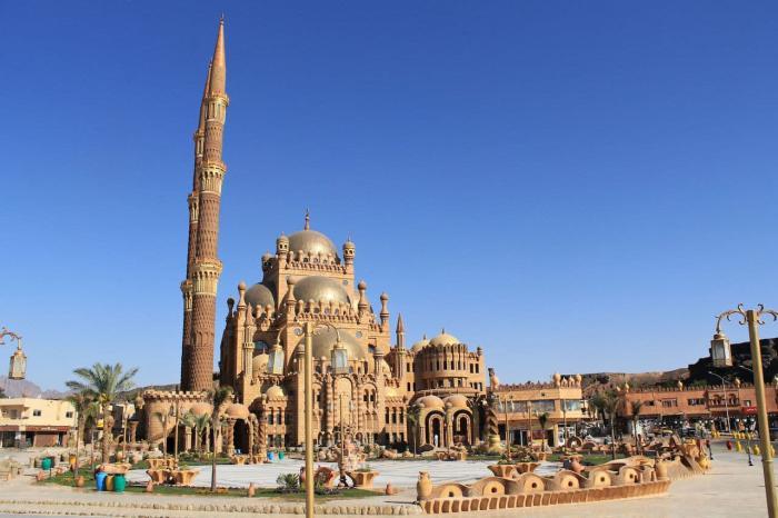 Шарм-эль-Шейх, Мечеть Эль Сахаба