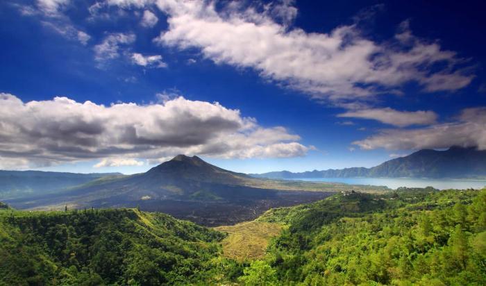Бали, Вулканы Батур