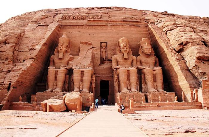 Египет, Храмы в Абу-Симбеле