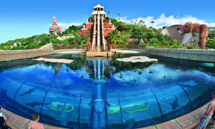 ТЕНЕРИФЕ, аквапарке Сиам
