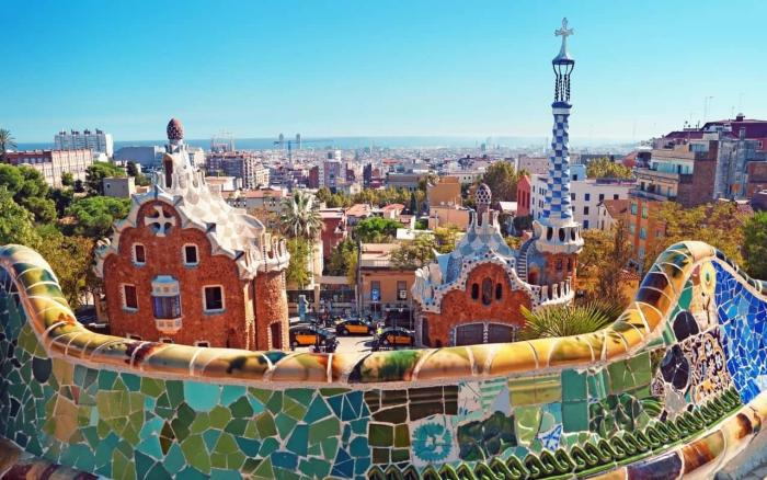 Барселона, Парк Гуэля