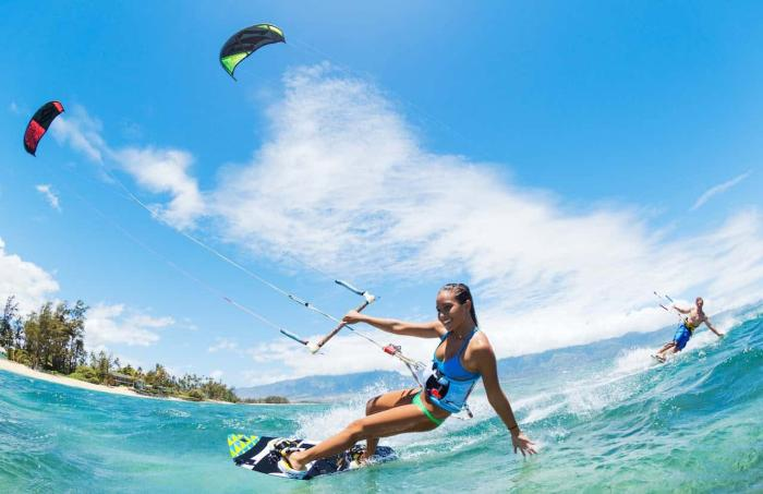 Египет, кайт серфинг