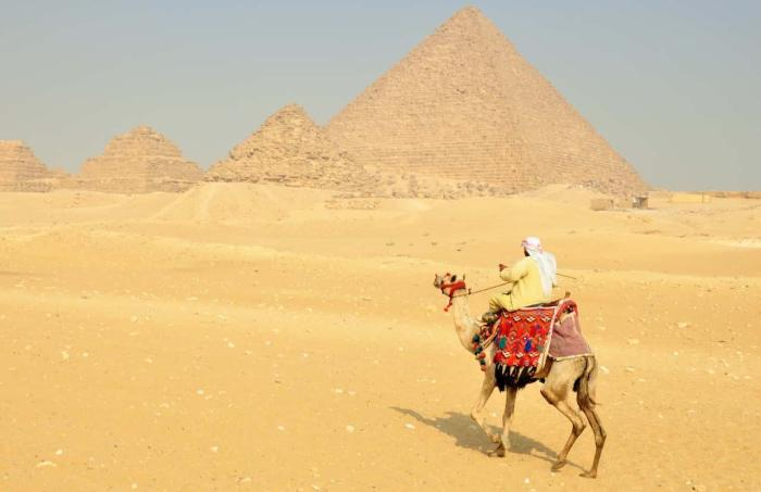 Египет, прокатиться на верблюдах