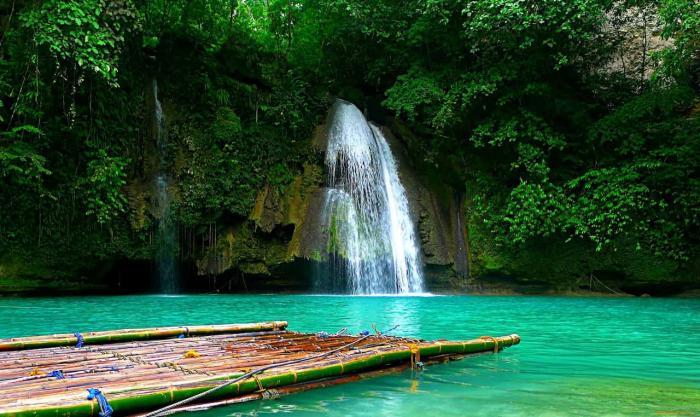 Филиппины, водопады
