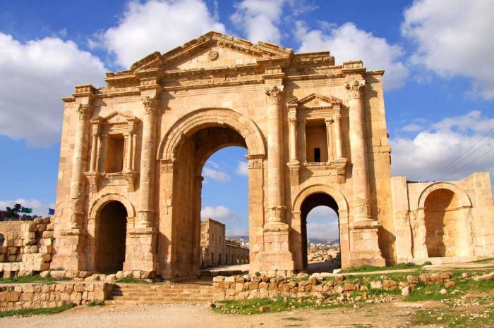 Иордания, древний город Джераш