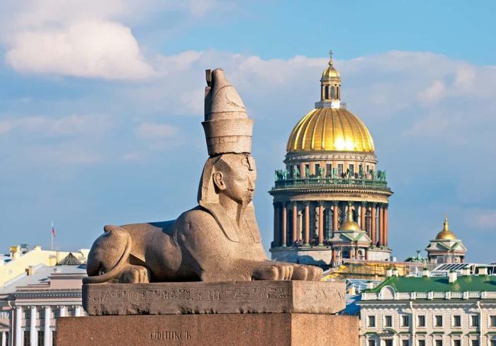 Санкт-Петербург, сфинксы