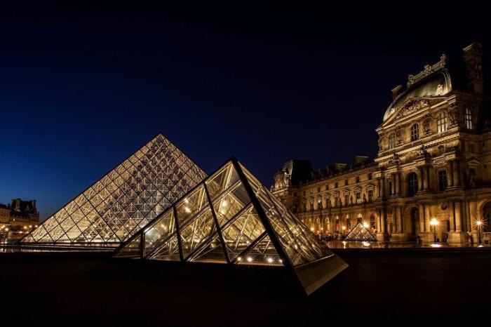 Франция Лувр