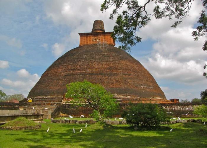 Куда поехать в январе (ДагобаДжетаванарама, Шри-Ланка)