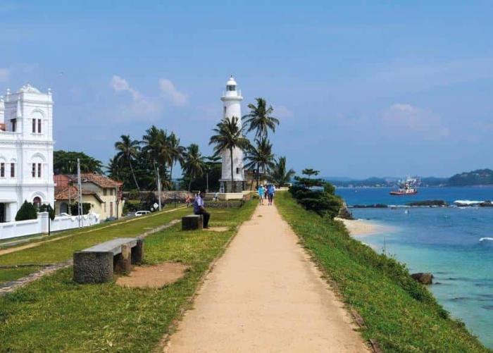 Куда поехать в январе (Голланский форт в Галле, Шри-Ланка)