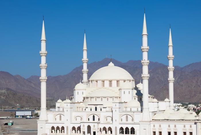 ОАЭ Фуджейру мечеть