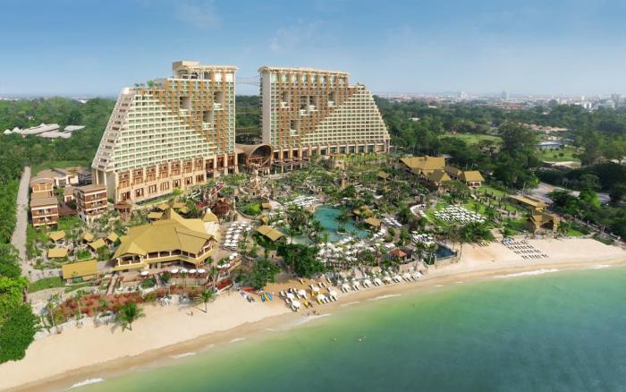 Отдых с детьми Таиланд Centara Grand Mirage Beach Resort Pattaya2