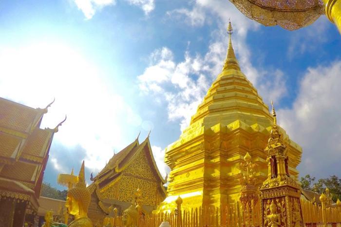 Таиланд Ват Прахат Дой Сутхеп
