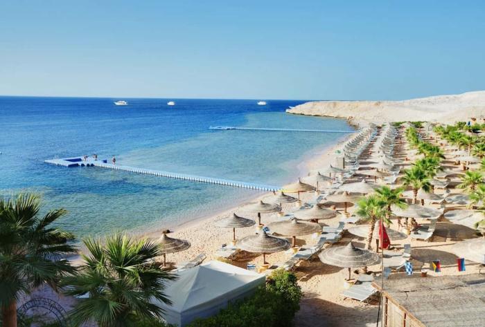 Египет, пляж в Шарм-эль-Шейхе