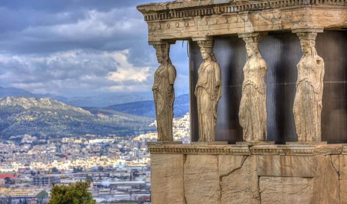 Греция, Афинский акрополь