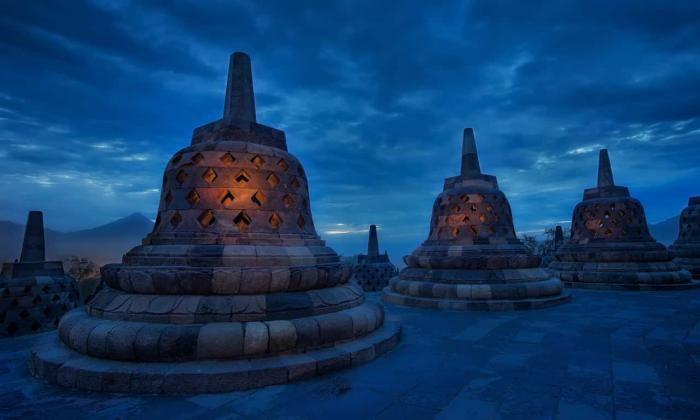 Индонезия, Боробудур на острове Ява