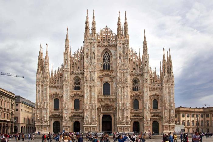 Италия, Миланский собор