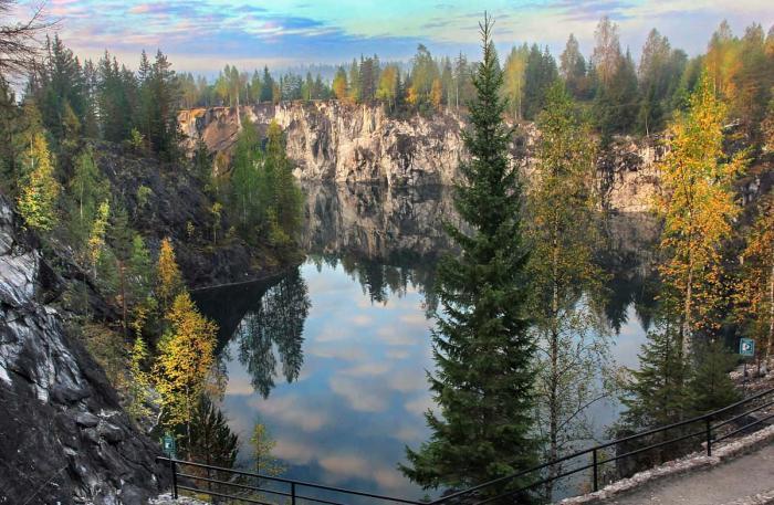 Карелия, Горный парк «Русекала»