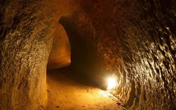 Вьетнам, Туннели Кучи