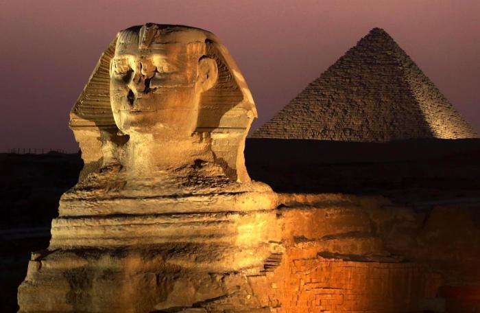 Египет, Заменитый Сфинкс и Пирамиды