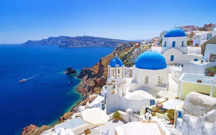 Греция, Остров Санторини