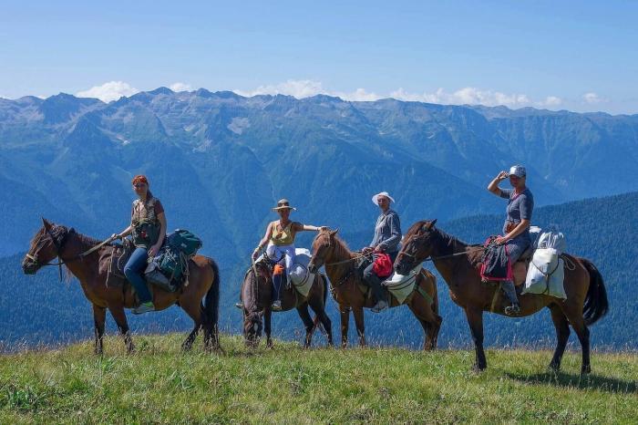 Хорватия, конный туризм