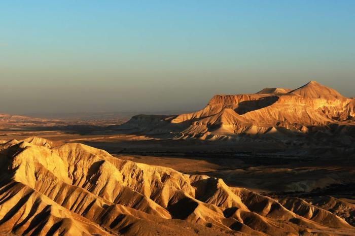 Израиль, Посмотрите пустыню Негев