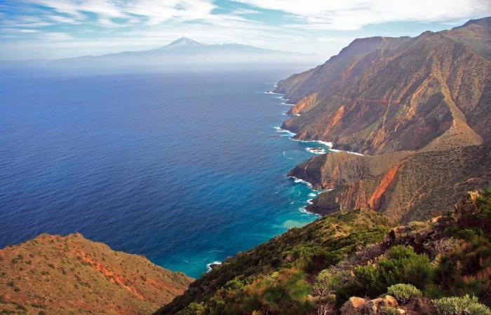 Канарские острова, Вид со смотровой площадки