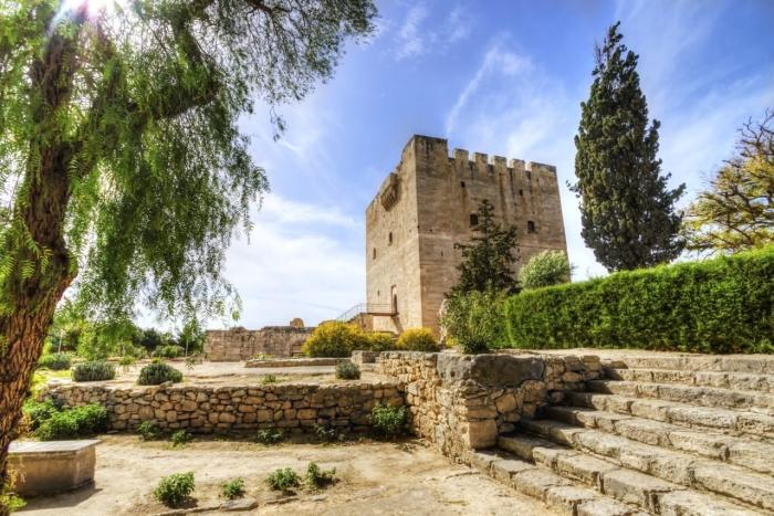 Кипр, замок Лимасола