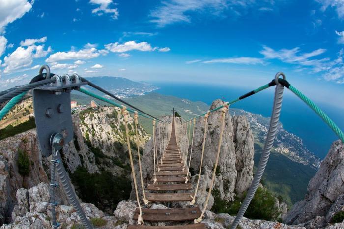 Крым, восхождение на гору Ай-Петри