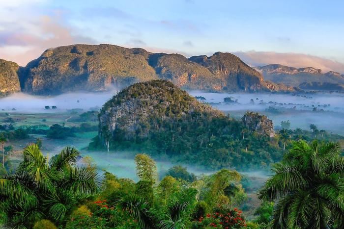 Куба, Национальный парк - Долина Виньялес