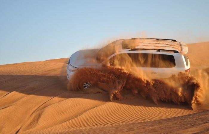 ОАЭ, Попробуйте авто ралли в пустыне
