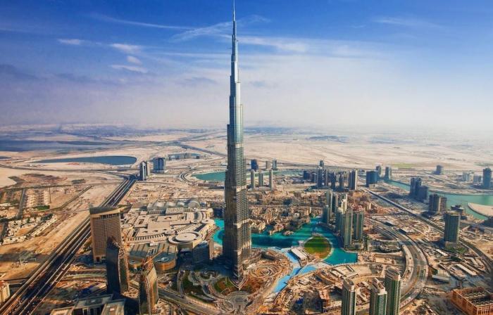 ОАЭ, самое высокое здание в мире - Бурдж-Халифа