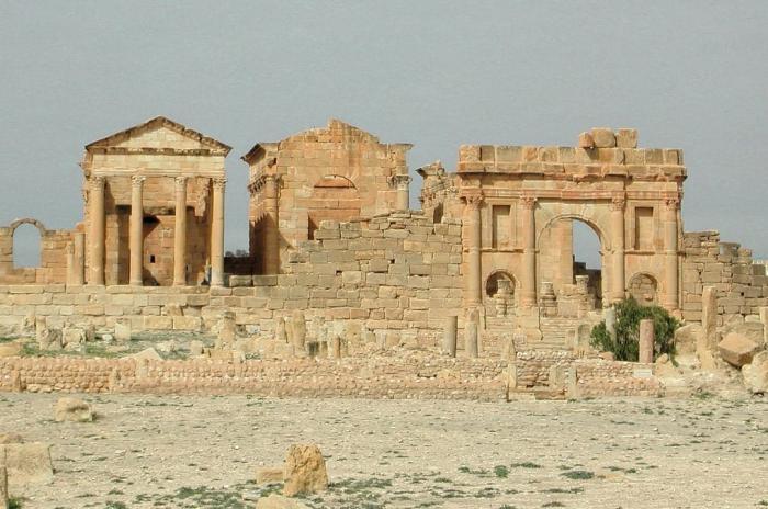 Тунис, Посмотрите руины древнего города Карфаген