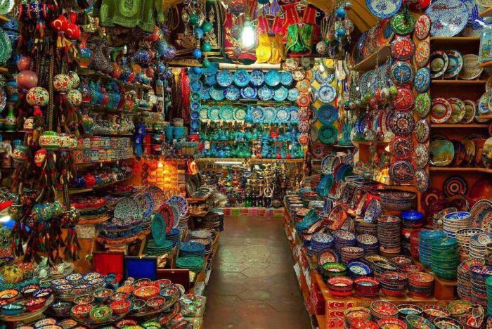 Турция, Гранд базар в Стамбуле