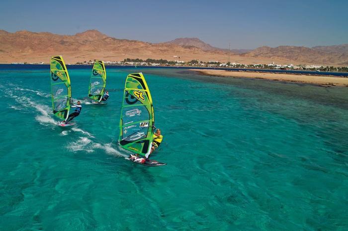 Египет, в Дахабе можно заняться активными видами спорта