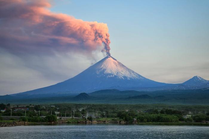 Камчатка, Ключевский вулкан